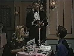 Melissa Jarrett, Waiter, Todd Landers in Neighbours Episode 1073