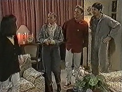 Kerry Bishop, Bronwyn Davies, Henry Ramsay, Joe Mangel in Neighbours Episode 1073