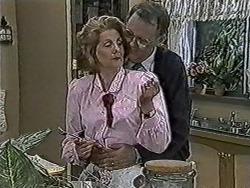 Madge Bishop, Harold Bishop in Neighbours Episode 1073