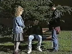 Sharon Davies, Nick Page, Matt Robinson in Neighbours Episode 1073