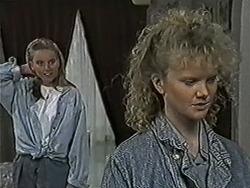 Bronwyn Davies, Sharon Davies in Neighbours Episode 1073