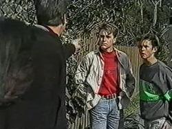 Kerry Bishop, Joe Mangel, Nick Page, Todd Landers in Neighbours Episode 1073