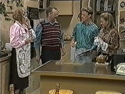 Madge Bishop, Harold Bishop, Henry Ramsay, Bronwyn Davies in Neighbours Episode 1075