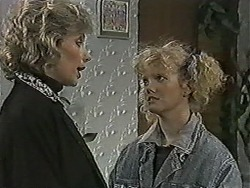 Beverly Robinson, Sharon Davies in Neighbours Episode 1075