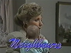 Beverly Marshall, Baby Rhys in Neighbours Episode 1075