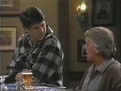Joe Mangel, Clarrie McLachlan in Neighbours Episode 1245
