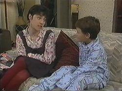 Kerry Bishop, Toby Mangel in Neighbours Episode 1245