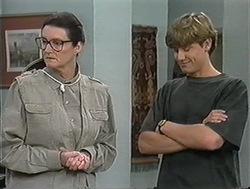 Dorothy Burke, Ryan McLachlan in Neighbours Episode 1245
