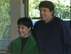 Kerry Bishop, Joe Mangel in Neighbours Episode 1255