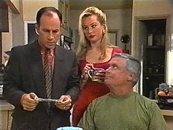 Benito Alessi, Annalise Hartman, Lou Carpenter in Neighbours Episode 1831