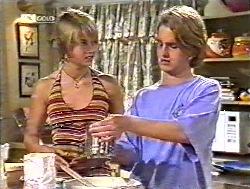 Danni Stark, Brett Stark in Neighbours Episode 2120