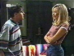 Rick Alessi, Annalise Hartman in Neighbours Episode 2120