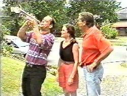 Philip Martin, Julie Martin, Doug Willis in Neighbours Episode 2120