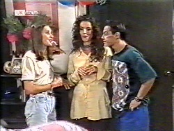 Sally Pritchard, Gaby Willis, Rick Alessi in Neighbours Episode 2120