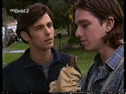 Malcolm Kennedy, Darren Stark in Neighbours Episode 2712