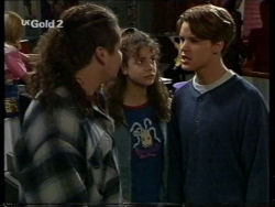 Toadie Rebecchi, Hannah Martin, Billy Kennedy in Neighbours Episode 2716