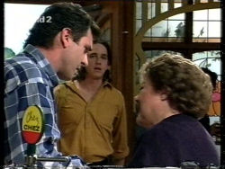 Karl Kennedy, Darren Stark, Marlene Kratz in Neighbours Episode 2716