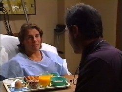 Joel Samuels, Karl Kennedy in Neighbours Episode 3223