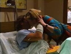 Joel Samuels, Sally Upton in Neighbours Episode 3223
