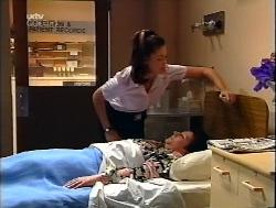 Sarah Beaumont, Deidre Kaufmann in Neighbours Episode 3223