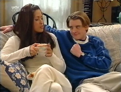 Sarah Beaumont, Tad Reeves in Neighbours Episode 3224