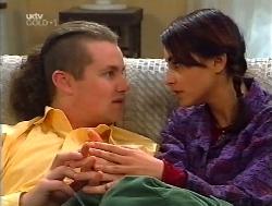 Toadie Rebecchi, Karen Oldman in Neighbours Episode 3224