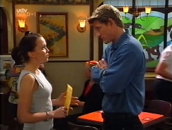 Libby Kennedy, Mike Healy in Neighbours Episode 3224
