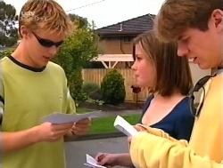 Billy Kennedy, Anne Wilkinson, Lance Wilkinson in Neighbours Episode 3228