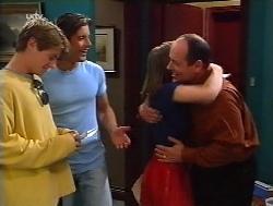 Lance Wilkinson, Drew Kirk, Anne Wilkinson, Philip Martin in Neighbours Episode 3228