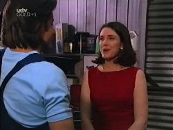 Drew Kirk, Victoria Healy in Neighbours Episode 3228