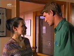 Geri Hallet, Mike Healy in Neighbours Episode 3228