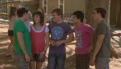 Declan Napier, Bridget Parker, Ringo Brown, Zeke Kinski, Kyle Canning in Neighbours Episode 5686