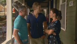 Karl Kennedy, Dan Fitzgerald, Rebecca Napier in Neighbours Episode 5687
