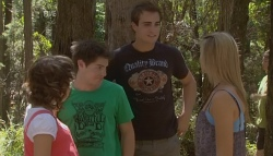 Bridget Parker, Declan Napier, Kyle Canning, Donna Freedman in Neighbours Episode 5687