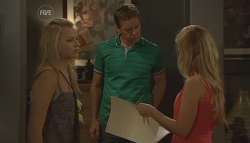 Donna Freedman, Paul Robinson, Elle Robinson in Neighbours Episode 5688
