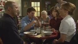Steve Parker, Declan Napier, Bridget Parker, Miranda Parker in Neighbours Episode 5688