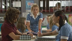 Bridget Parker, Donna Freedman, Sunny Lee in Neighbours Episode 5688