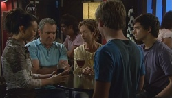 Sunny Lee, Karl Kennedy, Susan Kennedy, Ringo Brown, Zeke Kinski in Neighbours Episode 5688