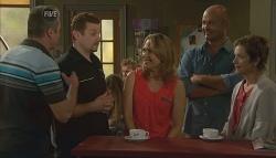Karl Kennedy, Toadie Rebecchi, Miranda Parker, Steve Parker, Susan Kennedy in Neighbours Episode 5689