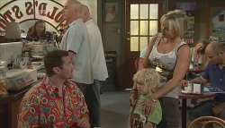 Toadie Rebecchi, Charlie Hoyland, Steph Scully in Neighbours Episode 5690