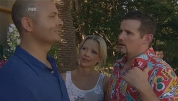 Steve Parker, Steph Scully, Toadie Rebecchi in Neighbours Episode 5690