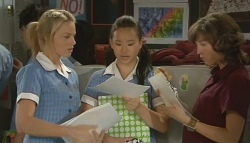 Donna Freedman, Sunny Lee, Bridget Parker in Neighbours Episode 5691