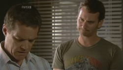 Paul Robinson, Lucas Fitzgerald in Neighbours Episode 5691