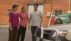 Susan Kennedy, Elle Robinson, Lucas Fitzgerald in Neighbours Episode 5692