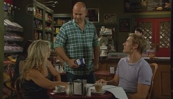 Steph Scully, Steve Parker, Dan Fitzgerald in Neighbours Episode 5693
