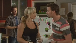 Greg Michaels, Steph Scully, Lucas Fitzgerald in Neighbours Episode 5694
