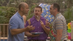 Steve Parker, Toadie Rebecchi, Karl Kennedy in Neighbours Episode 5694