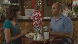 Bridget Parker, Callum Jones, Steve Parker in Neighbours Episode 5695