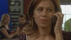 Elle Robinson, Lucas Fitzgerald, Rebecca Napier in Neighbours Episode 5696