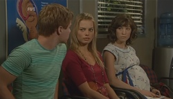 Ringo Brown, Donna Freedman, Bridget Parker in Neighbours Episode 5697